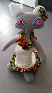 gato muñeco flamenco