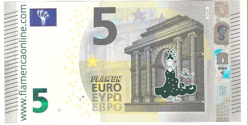 5€ flamencos