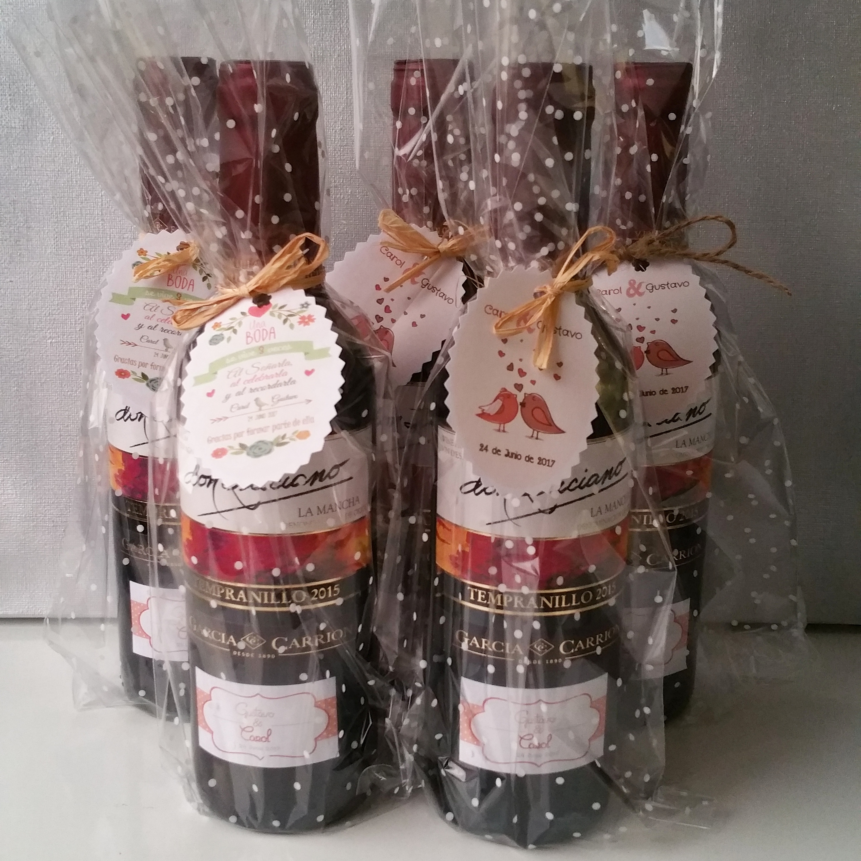 Botellas De Vino Decoradas Para Primera Comunion.12 Botellas Vino 375 Cl